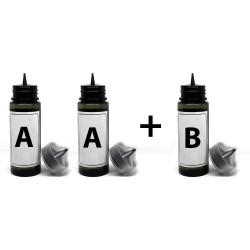 Süblimasyon Baskı İçin Şeffaf Kimyasal Set 3 lü